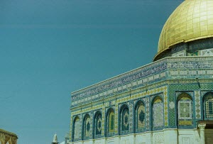 just one of many angles of the Dome of the Rock