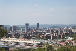 an outside view of the Pretoria skyline