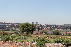 Soweto on a hot summer day in January
