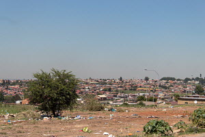 overlooking Orlando West, Soweto