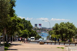 on the Hector Pieterson Square corner a perfect view of the Orlando Towers