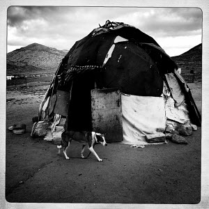 Traditional Nama Hut. Northern Cape - South Africa