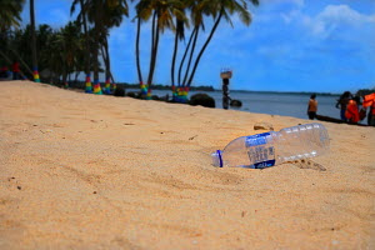 Bottle on the beach