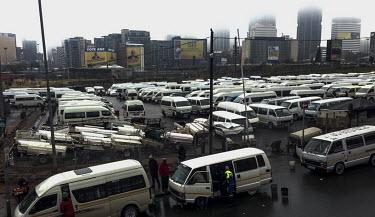 Johannesburg City Centre, Taxi Rank,