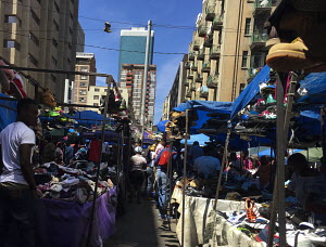 Informal trading Johannesburg, Informal western clothes trading,