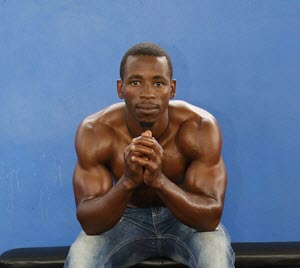 Portrait of a bodybuilder