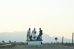 Behid the Van, Enroute to Hoedspruit, Mpumalanga, South Africa