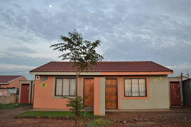Government subsidised housing, trees, greyish skies