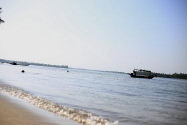 Volta Lake, Ada-Ghana, West Africa.