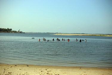 Volta lake, Ada, Ghana-West Africa