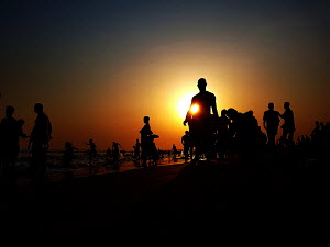 Captured during a sunset at SAKUMONO BEACH in Accra-Ghana, West Africa.